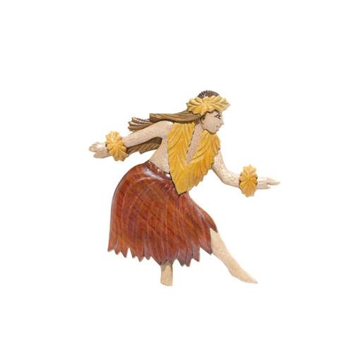 Female Hula Dancer - Magnet