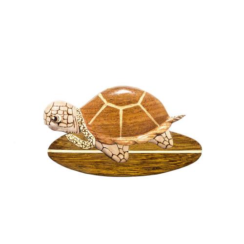 Surfing Turtle - Magnet