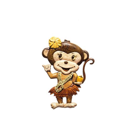 Shaka Monkey Girl - Magnet