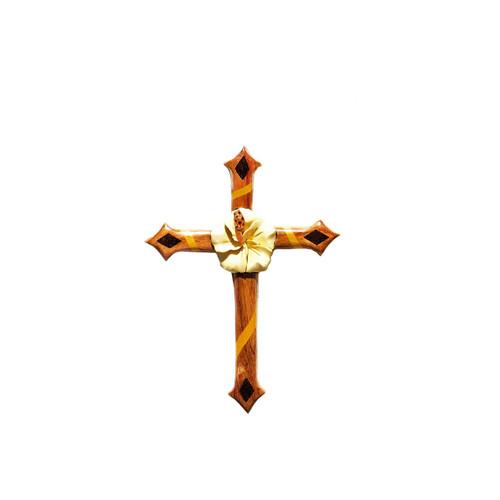 Hibiscus Cross - Magnet