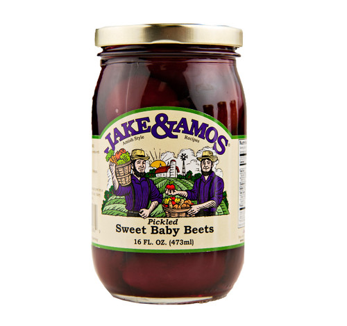 Pickled Sweet Baby Beets 16oz