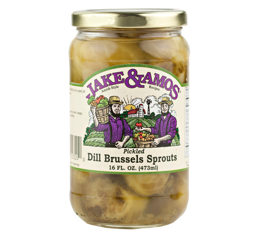 Pickled Dill Brussels Sprouts 16oz