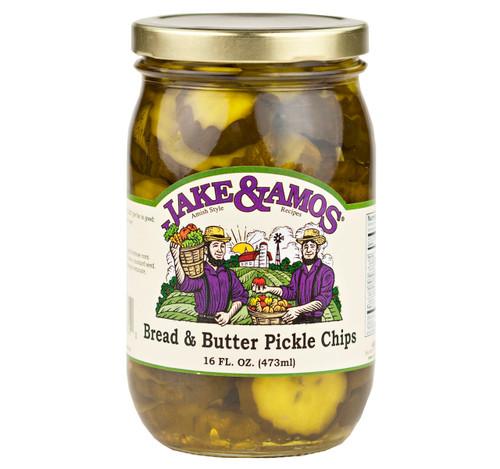 Bread & Butter Pickles 16oz