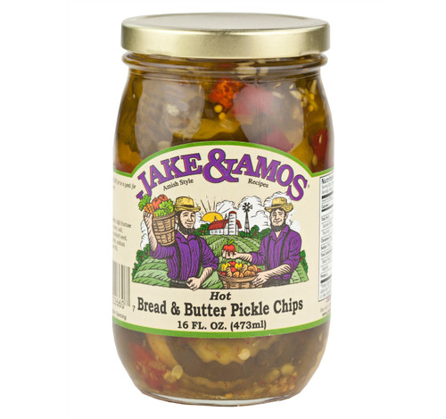 Hot Bread & Butter Pickle Chips 16oz