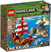 LEGO 21152 Minecraft The Pirate Ship Adventure