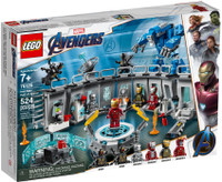 LEGO 76125 Super Heroes Iron Man Hall of Armour