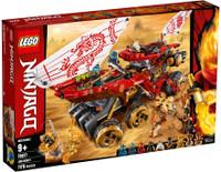 (Retired) LEGO 70677 Ninjago Land Bounty