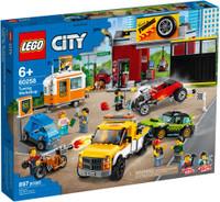 LEGO 60258 City Turbo Wheels Tuning Workshop (Retired)