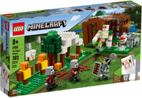 LEGO 21159 Minecraft The Pillager Outpost