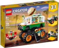 LEGO 31104 LEGO Creator Monster Burger Truck