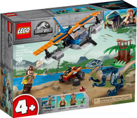 LEGO 75942 Jurassic World Velociraptor: Biplane Rescue Mission (Retired)