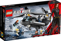LEGO 76162 Super Heroes Black Widow's Helicopter Chase