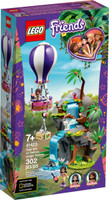 LEGO 41423  Friends Tiger Hot Air Balloon Jungle Rescue