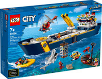 LEGO 60266  City Ocean Exploration Ship