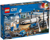 LEGO 60229  City Rocket Assembly & Transport (Retired)