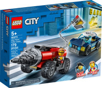 LEGO 60273 City Police Driller Chase