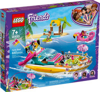 LEGO 41433  Friends Party Boat (Retired)