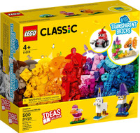LEGO 11013 LEGO Classic Creative Transparent Bricks
