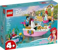 LEGO 43191 Disney Princess Ariel's Celebration Boat