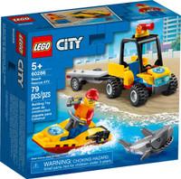 LEGO 60286  City Beach Rescue ATV