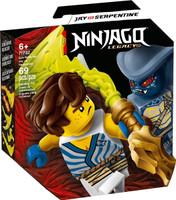 LEGO 71732 Ninjago Epic Battle Set - Jay vs. Serpentine