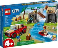 LEGO 60301  City Wildlife Rescue Off-Roader