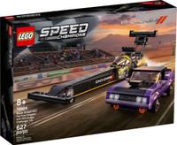 LEGO 76904 Speed Champions Mopar Dodge//SRT Top Fuel Dragster and 1970 Dodge Challenger T/A