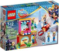 LEGO 41231 DC Super Hero Girls Harley Quinn™ schiet te hulp
