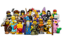 LEGO 71007 Minifigures  Series 12 (Set of 16 opened packs)
