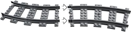 LEGO 60238 City Train Switch Tracks