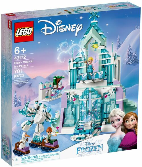 LEGO 43172 Disney Princess Elsa's Magical Ice Palace