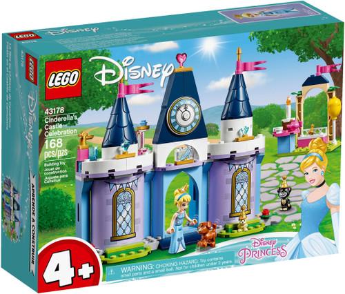 LEGO 43178 Disney Princess Cinderella's Castle Celebration (Retired)