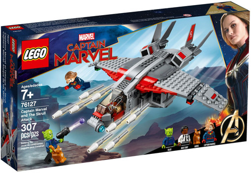 LEGO 76127 Super Heroes Captain Marvel and The Skrull Attack
