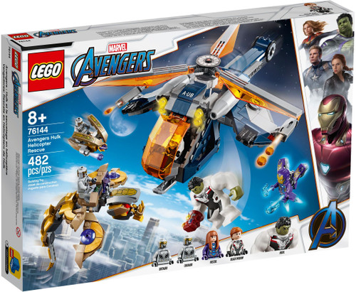 LEGO 76144 Super Heroes Avengers Hulk Helicopter Rescue