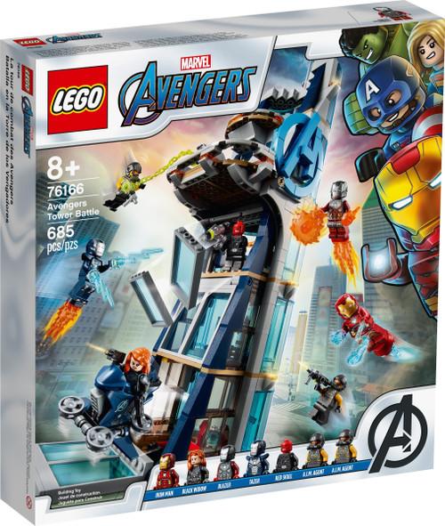 LEGO 76166 Super Heroes Avengers Tower Battle