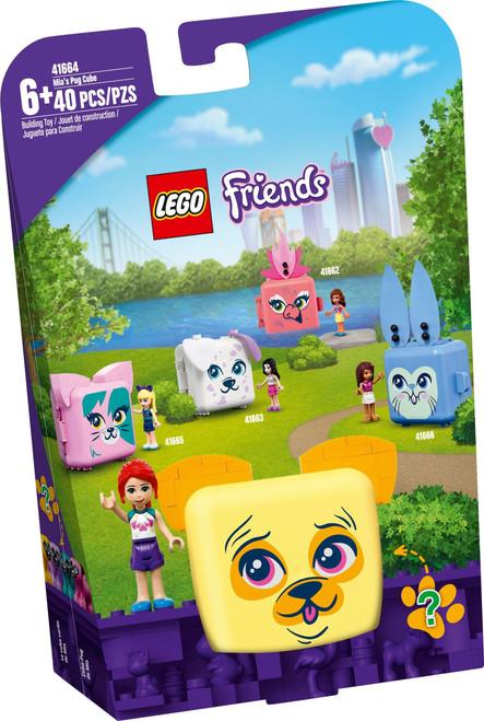 LEGO 41664  Friends Mia's Pug Cube
