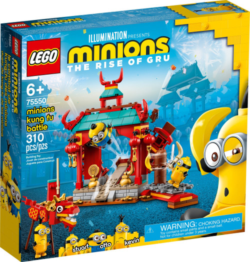 LEGO 75550 Minions Minions Kung Fu Battle