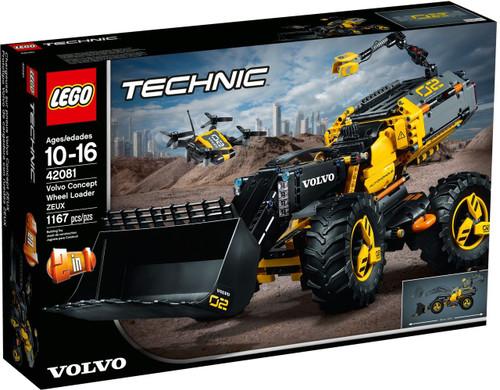 LEGO 42081 Technic Volvo Concept Wheel Loader ZEUX