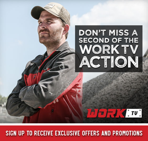 Don't miss a second of the WORK TV action