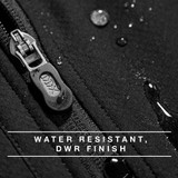 Water-resistant, DWR Finish