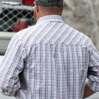 Grey and White Plaid