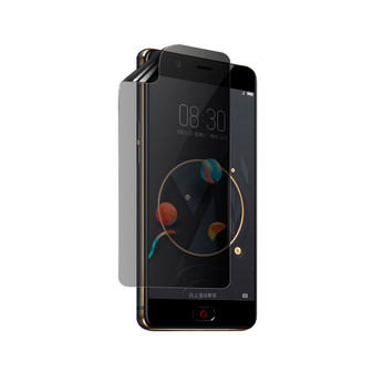 Nubia N2 Privacy Plus Screen Protector