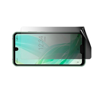 Sharp Aquos R2 Compact Privacy (Landscape) Screen Protector
