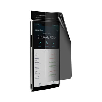 Sirin Labs Finney Privacy Lite Screen Protector