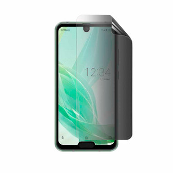 Sharp Aquos R2 Compact Privacy Screen Protector