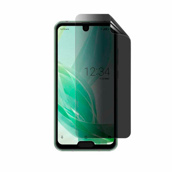 Sharp Aquos R2 Compact Privacy Plus Screen Protector