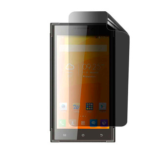 Karbonn Platinum P9 Pro Privacy Plus Screen Protector