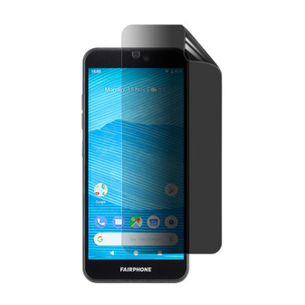 Fairphone 3 Privacy Plus Screen Protector