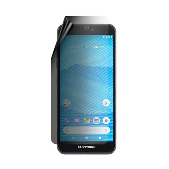 Fairphone 3 Privacy Lite Screen Protector