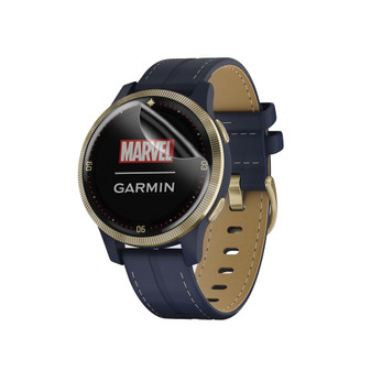 Garmin Legacy Hero Captain Marvel Matte Flex Screen Protector